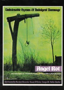 Frank Kozik Angel Rot Hangman Gothic Rock Music Artist Poster Art Postcard