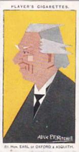 Player Vintage Cigarette Card Sea Fishes No 44 Earl Of Oxford & Asquith  1926