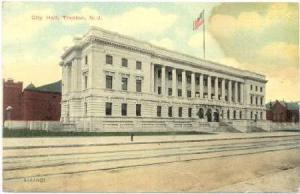 City Hall, Trenton, New Jersey, PU-1911