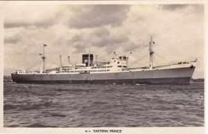 MV Eastern Prince Vickers Armstrong Line Cargo Ship Postcard