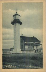 Matane Quebec Lighthouse c1930s Postcard