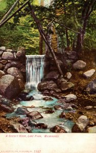 Wisconsin Milwaukee Lake Park A Secret Nook 1909
