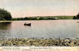NH - Milton. Town House Pond