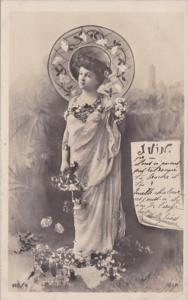 Month Of The Year June Glamorous Lady 1903