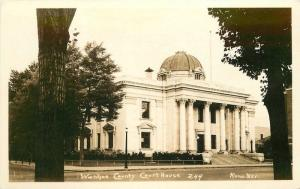 1920s Washoe County Court House Reno Nevada RPPC real photo postcard 7736