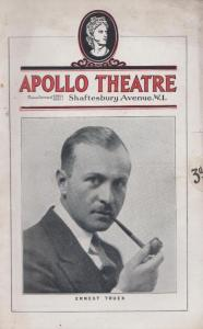 The First Year Ernest Truex Frank Craven Apollo London Theatre Programme