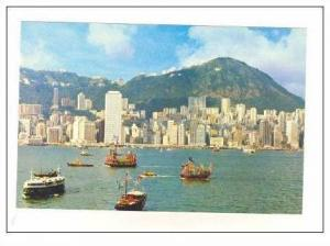 Central district of Hong Kong, China, 40-60s