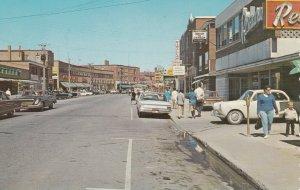 Rue St-Germain , Rimouski , Quebec, Canada, 50-60s