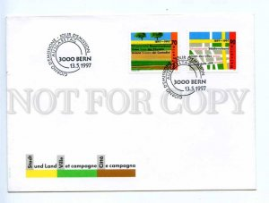 417749 Switzerland 1997 year First Day COVER stamps set FDC
