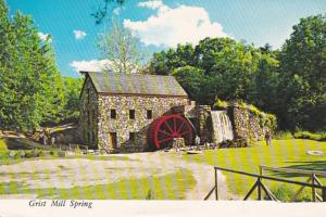 Masachusetts Sudbury Grist Mill Longfellow's Wayside Inn