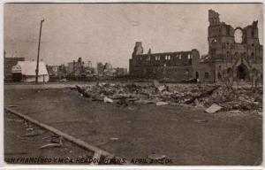 Ruins YMCA HQ 1906, San Francisco CA