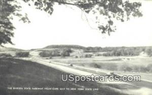 Garden State Parkway Cape May NJ Unused
