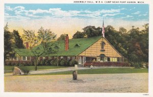 PORT HURON , Michigan , 1910s ; Assembly Hall, W.B.A. Camp