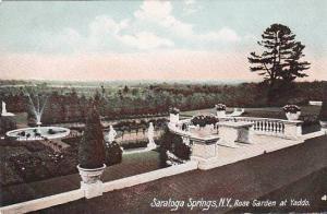 New York Saratoga Springs Rose Garden At Yaddo