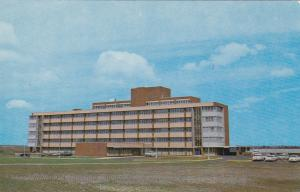 MEDICINE HAT, Alberta, Canada, 40-60s; A View Of The Fine New Municipal Hospital