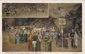 New Mexico Carlsbad Lunch Room In Carlsbad Cavern Curteich