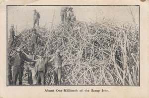 SAN FRANCISCO, CA, 1906 ; One-Millionth of the Scrap Iron