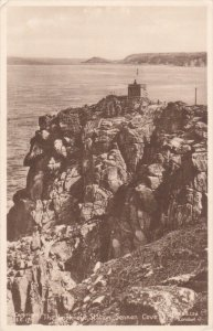 TUCK: SENNEN COVE, Cornwall, England, United Kingdom; The Look-out Station, 0...