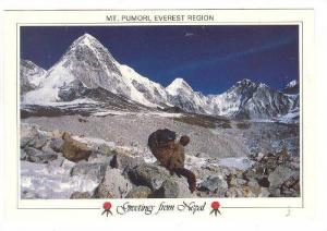 Sherpa , Mt Pumori , Everest Region , NEPAL , 70-80s