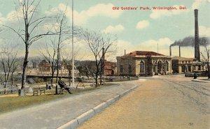 LP39     Old Soldier's Park Wilmington Delaware  Postcard