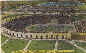 Pennsylvania Philadelphia Municipal Stadium 1945 sk4903