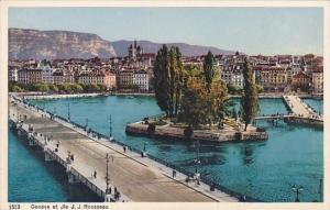 Switzerland Geneve et Jle J J Rousseau