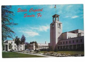 New Mexico State Capitol Santa Fe New Mexico  Petley Card