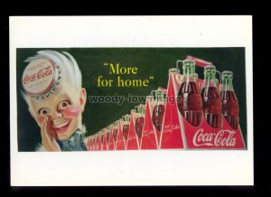 ad3922 - Coca-Cola - Sprite Boy shouts More for Home - Modern Advert postcard