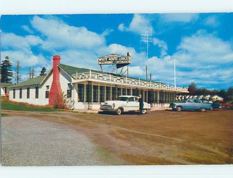 Unused Pre-1980 WHITE HOUSE MOTEL & RESTAURANT St. Saint John NB o0346