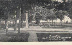 CHAUTAUQUA, New York, 1908 ; Miller Park