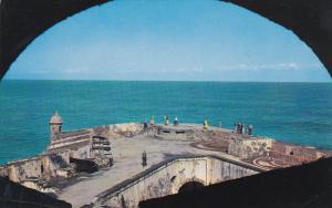 Fortress El Morro Entrance San Juan harbor, Puerto Rico, 40-60s
