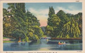 New York Scene At Greenwood Lake 1939 Curteich