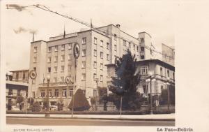 RP: Sucre Palace Hotel , LA PAZ , Bolivia , 1930s