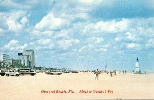 Florida Ormond Beach Beach Scene