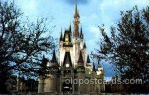 Cinderella Castle Disney Unused