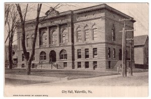Waterville, Me, City Hall