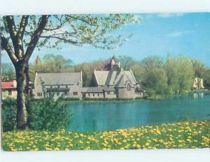 Pre-1980 CHURCH SCENE Finger Lakes - Seneca Falls New York NY G4075