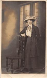 Vintage Fashion Fancy Hat Dress Clothing, Lady, Woman, Dame