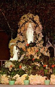 Ohio Cincinnati Lourdes Shrine Sacred Heart Italian Church