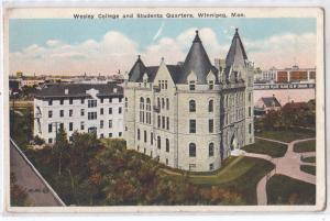 Wesley College, Winnipeg, Man