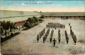 PC CPA PHILIPPINES, GUARD MOUNT, CUARTEL DE ESPANA, MANILA, Postcard (b19043)