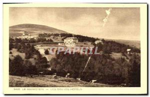 Old Postcard Markstein Great Hotels