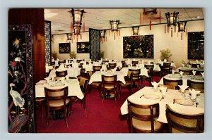 Chicago IL, The Dragon Inn Restaurant, Chrome Illinois Postcard