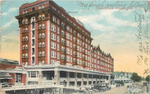 Atlantic City New Jersey~Hotel Strand~My Final Resting Place~Vintage Cars~1917