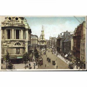 Photochrom Co. Postcard 'London, The Strand'
