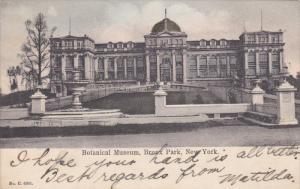 NEW YORK CITY, New York, 1900-1910's; Botanical Museum, Bronx Park