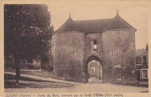 Porte Du Bois, Ouvrant Sur La Foret d'Othe (XIII Siecle), Joigny (Yonne), Fra...