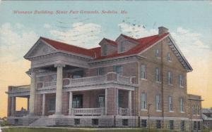 SEDALIA, Missouri, PU-1911; Womans Building, State Fair Grounds