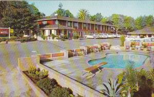Park Crest Motel Pool Monterey California