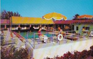 Florida Hialeah Motel Swimming Pool